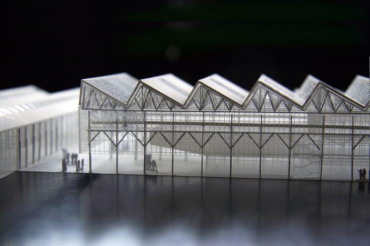 franklin azzi architecture: alstom halles, nantes