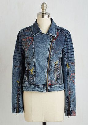 Desigual Give It to Me Illustrate Jacket - Shop for women's Jacket