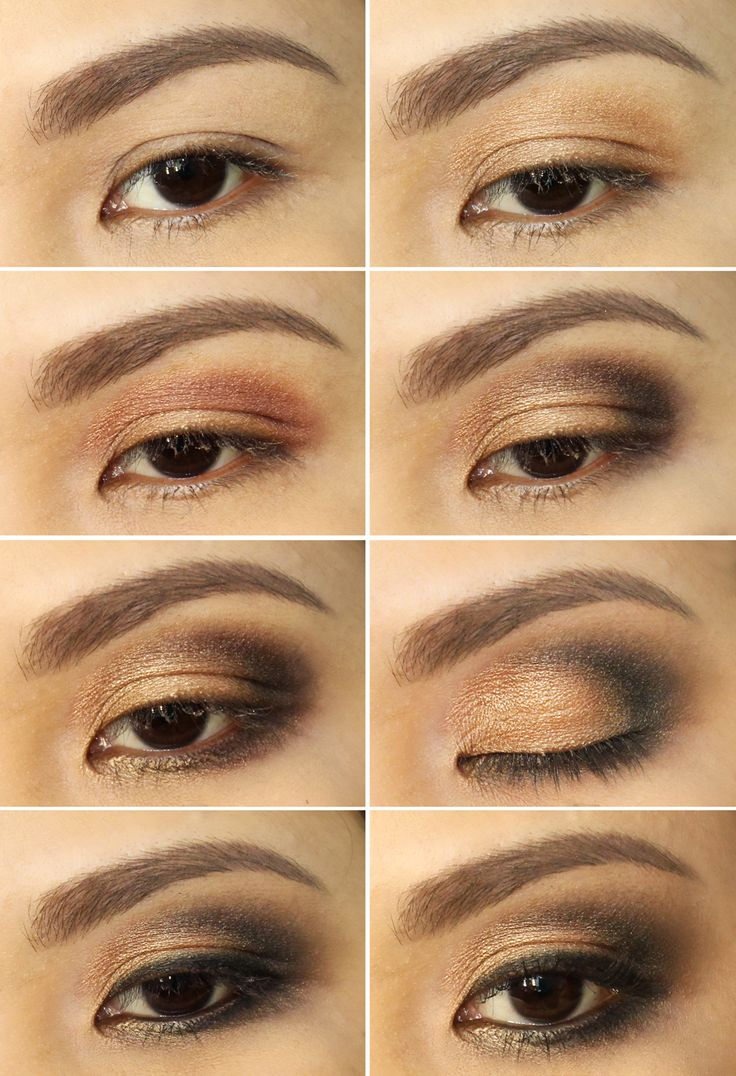Easy brown smokey eye makeup tutorial decorativestyle best 25 brown smokey eye tutorial ideas on baditri Gallery