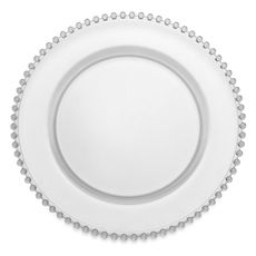 """Belmont 13"""" Clear Charger Plate - Bed Bath & Beyond"""