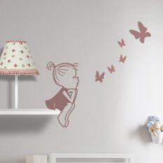 Las 25 mejores ideas sobre dibujos para paredes en for Vinilos decorativos infantiles originales