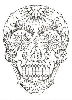 102 best el dia de los muertos images on Pinterest Sugar skulls