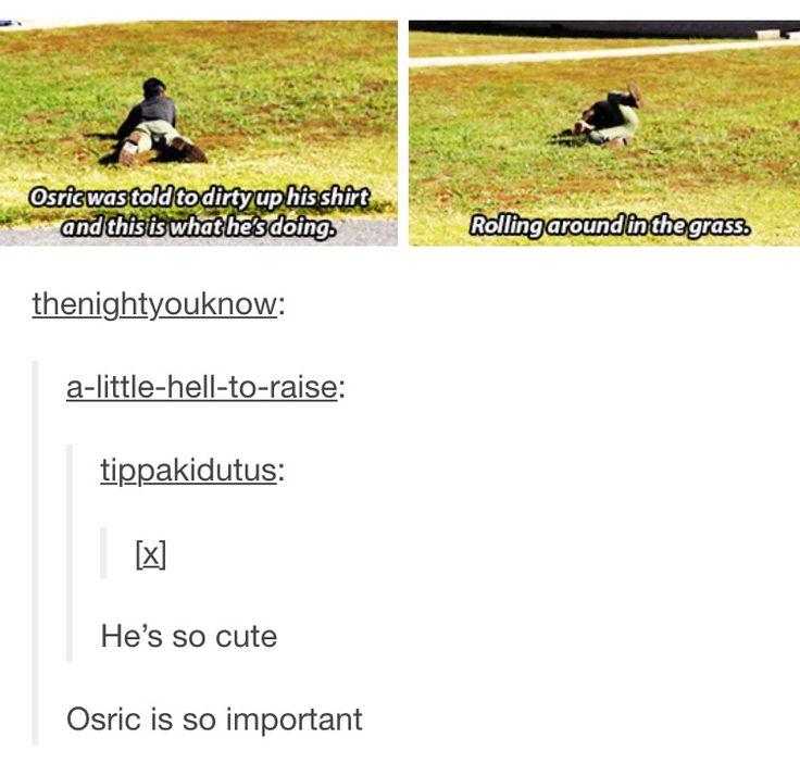 Osric Chau, the adorable little Prophet.