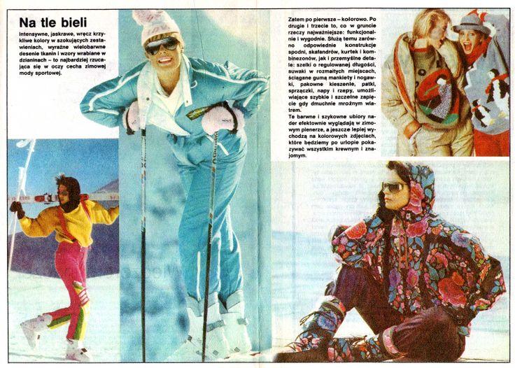 "from ""tylko dla ciebie"" wydawnictwo specjalne ""ŚWIATA MODY"" nr 1 '1988  models reprint from Harper's Bazaar, Annabella, Brigitte, Elle, Freundin, Grazia."