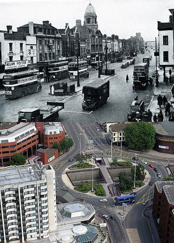 Bristol Then & Now - Old Market | by brizzle born and bred