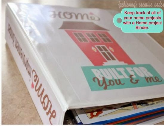 Achieving Creative Order: The Home Project Binder {Printable}