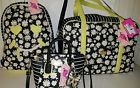 ♧∞ Betsey Johnson Weekender Daisy Floral Striped Quilted Backpack/Crossbody Ends Soon http://ebay.to/2maqjm8