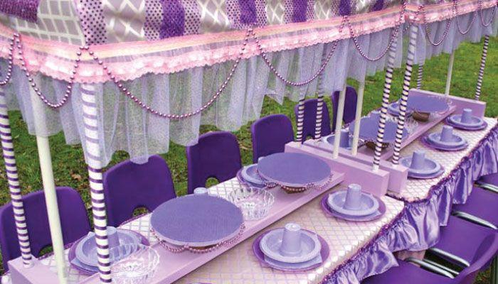 Royal princess party royal princess party decor hire for Decor 4 hire
