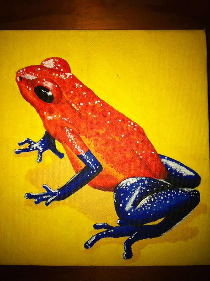 Frog #5 by Carolyn Lopes.