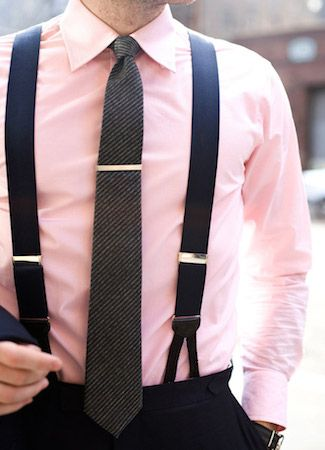 How To Wear Suspenders Man S Guide To Braces Classic