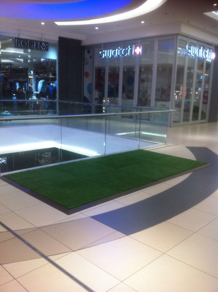 An Astroturf Connecta-Floor for Virgin Active at Tygervalley Mall