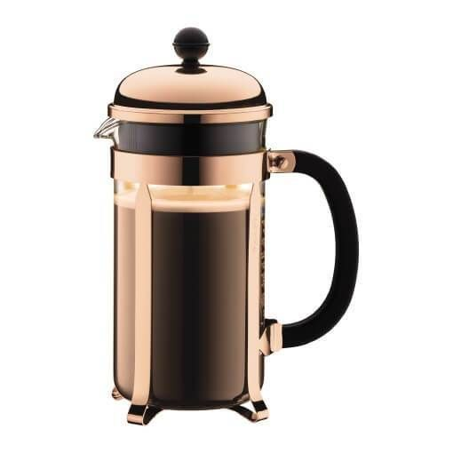 CHAMBORD is a true original – the classic French press coffee maker designed in the fifties. And we still produce it with the same painstaking craftsmanship we used way back when with the original.