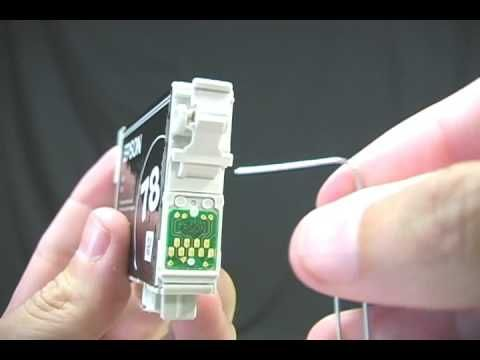 Epson ink cartridges - reset - hack- ink secrets                                                                                                                                                                                 More