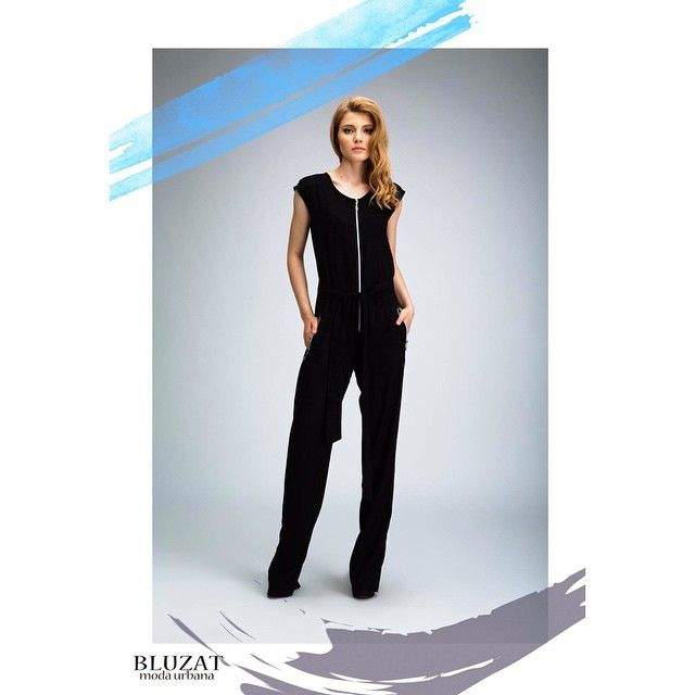It's Friday! Are you ready for the weekend? If you have trouble choosing an outfit let us help you. We recommend L'Art jumpsuit http://www.bluzat.ro/?p=18562 #bluzat #modaurbana #fashion #ootd #jumpsuit #class #friday #trend