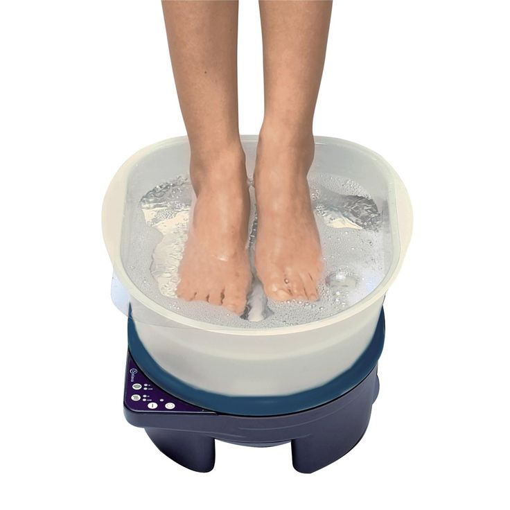 Belava Pedicure Foot Massager & Heater with Tub / Navy