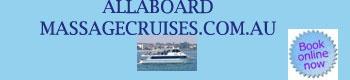 Allaboard Massage cruises melbourne website