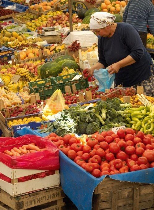 Dalyan market Fantastic and so cheap.