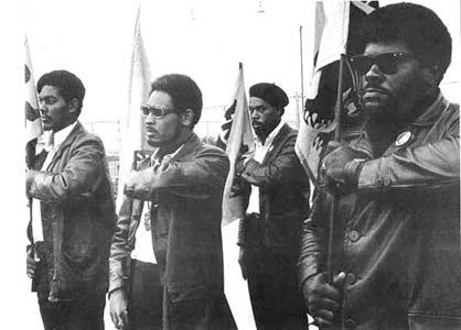 On May 2, 1967, armed members of the Black Panther Party marched on the California state capitol in opposition to the Mulford Act, which prohibited public carrying of loaded firearms.
