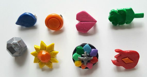 First Gen Pokemon Gym Badges by DiligentClusters on Etsy