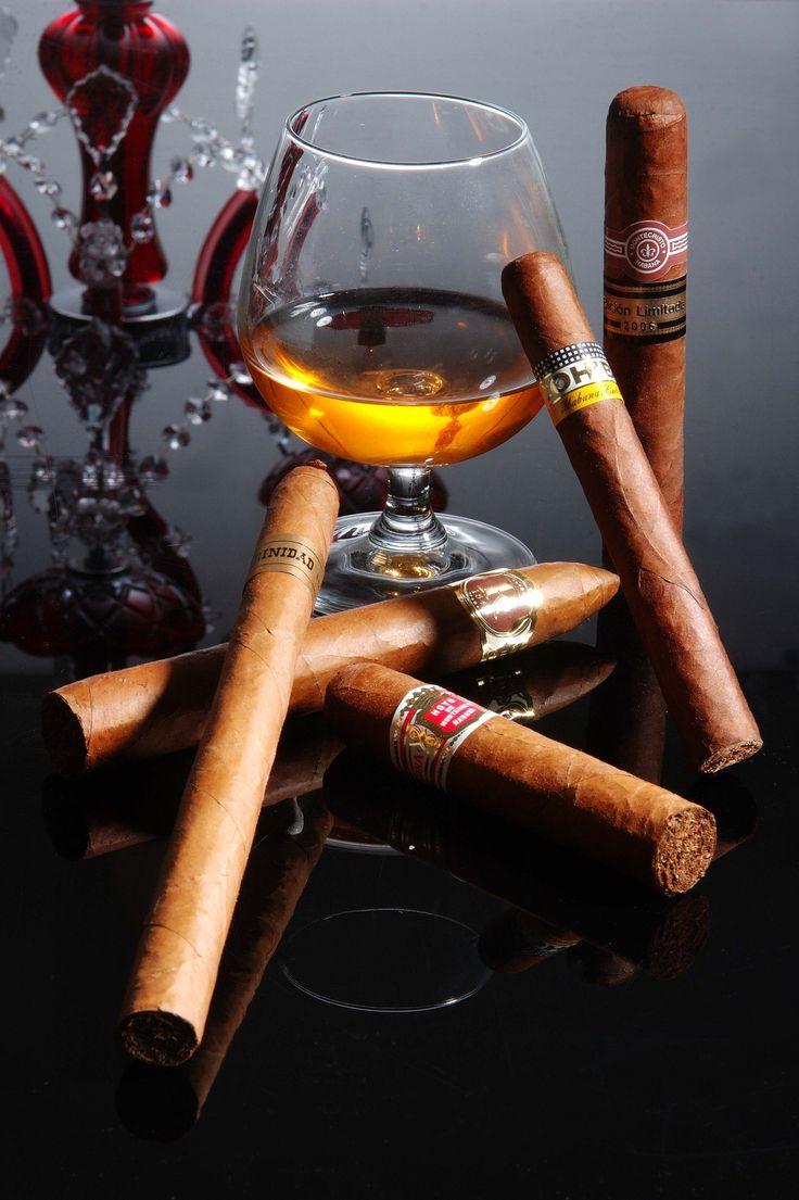 вкус сигары и коньяк картинка оригинальное тату ананаса