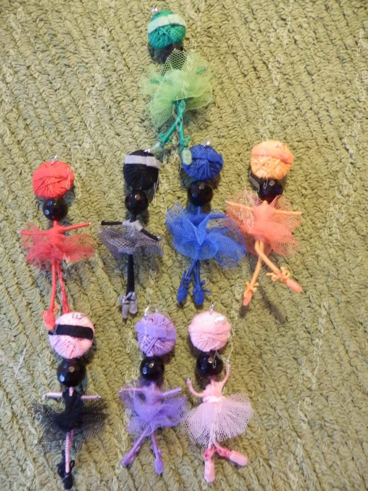 Bailarinas de piedra semipreciosa ónixs broche colgante de Algodón de Luna  con nuestra perla