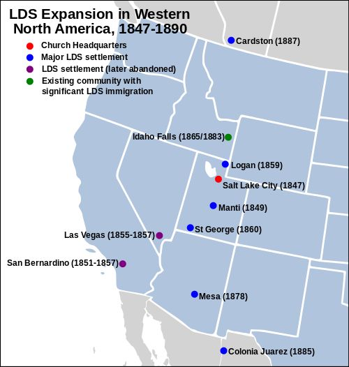 History of The Church of Jesus Christ of Latter-day Saints - Wikipedia, the free encyclopedia