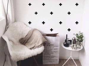 Cutouts Canada   Swiss Cross Removable Wall Decals. Great For Renters!