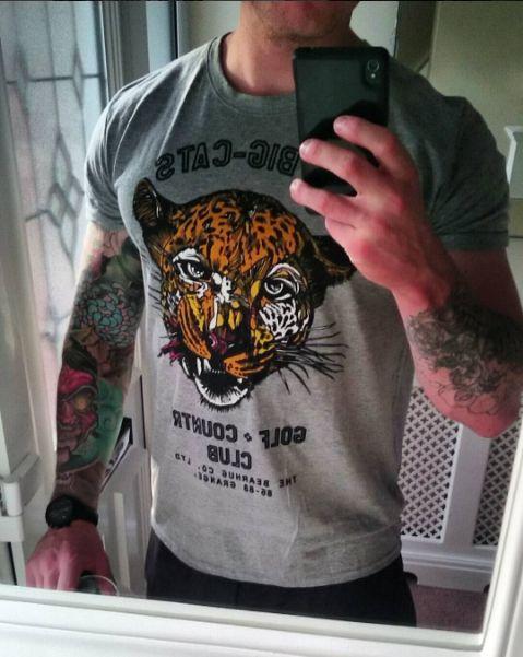 BIG CATS COUNTRY CLUB TEE - @clay088 @thebearhugco New T-shirt from #thebearhugco #bigcat #tiger #tshirt #logo