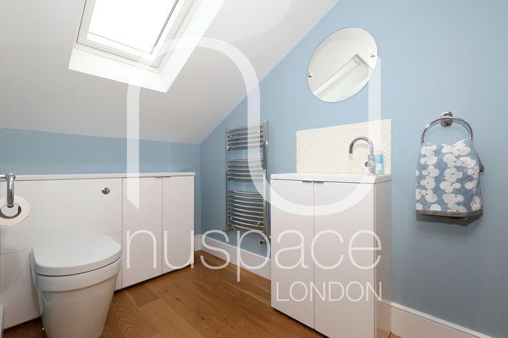 l-shaped dormer loft conversion highbury #nuspacelondon #loftconversionlondon #bathroom