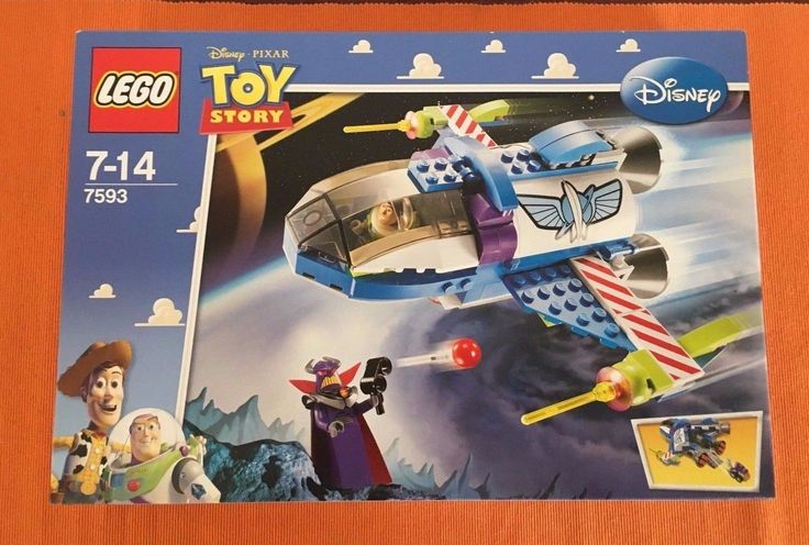 BRAND NEW - SEALED! LEGO Toy Story Buzz's Star Command Spaceship (7593)