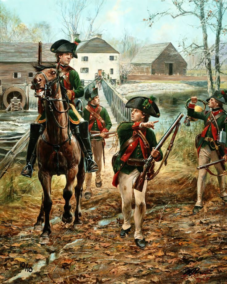 Hessian Jaegers in British service, American War of Independence