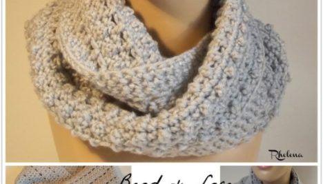 Cabled Diamonds Wine Bottle Cozy ~ FREE Crochet Pattern