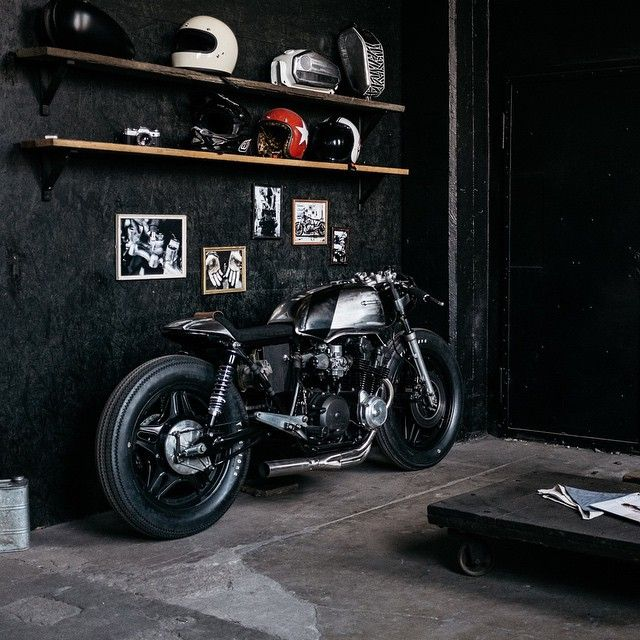 Hookie Co CB750 Cafe Racer #motorcycles #caferacer #motos | caferacerpasion.com