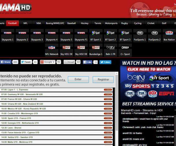 Mamahd Alternatives To Stream Live Sports Bt Sport Sports Wrk