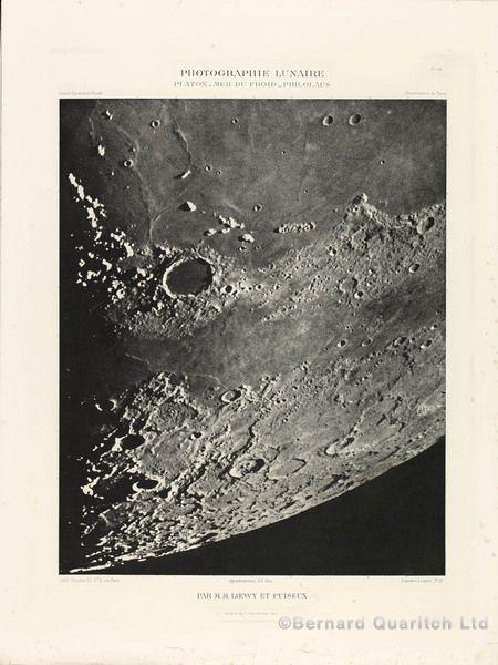 Bernard Quaritch Antiquarian Books : LOEWY, Maurice, and Pierre PUISEUX. - Atlas photographique de la lune.