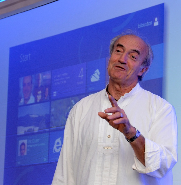 Bill Buxton speaking at Microsoft App Days, 26th September 2012