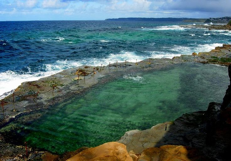 Bogey Hole, Newcastle, Australia - Used to go swimming here with Loz, was fantastic!