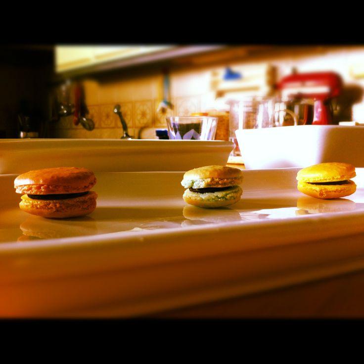 Home made macarons <3