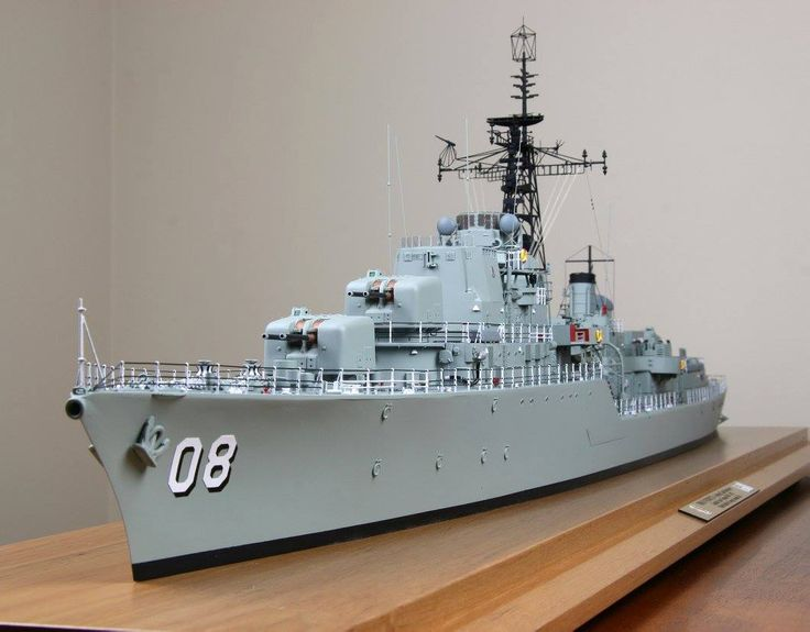 HMS Hardy (R08) V-class destroyer of the British Royal Navy model. Unknown-scale (?) #2/2