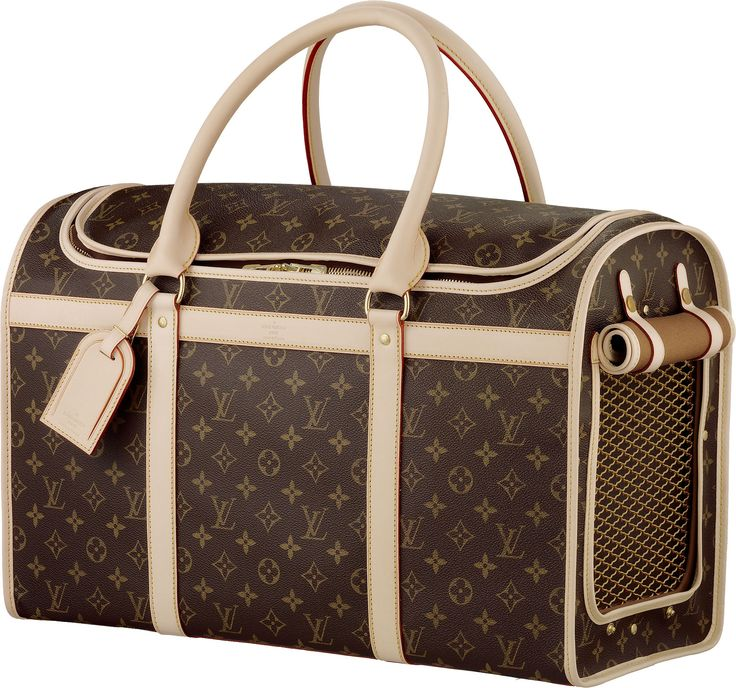 Louis Vuitton Dog Carrier. If only Abby was small enough
