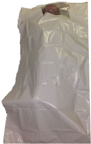 TAPE BODY BAG WITH WINDOW ....MANUFACTURED BY QUANTUMED