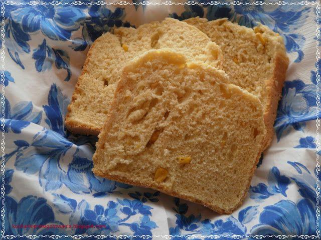 Kochanie przez gotowanie: Chleb kukurydziany /z automatu/