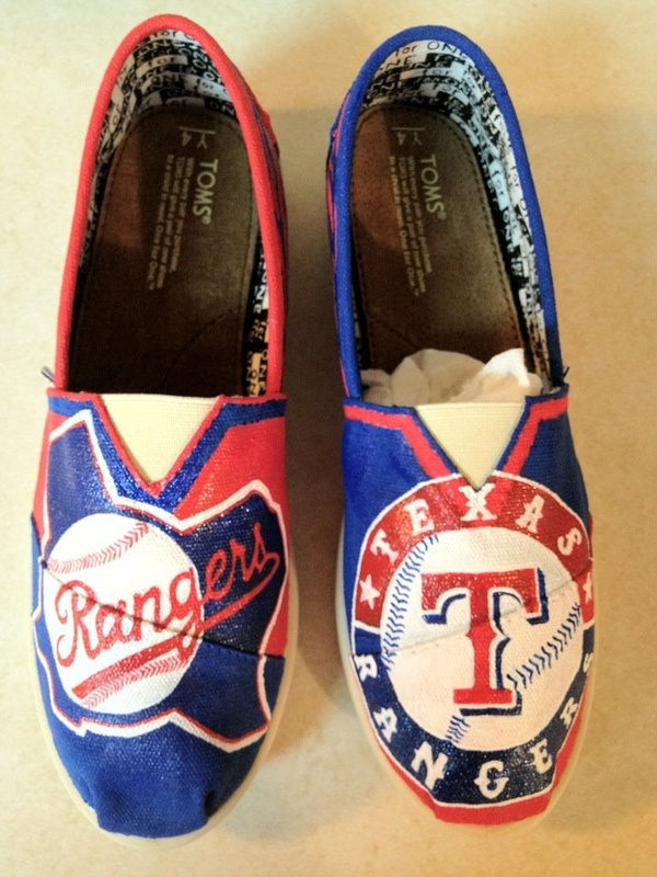 Texas Rangers TOMS [