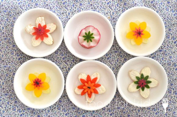 Pretty Flower Sandwiches - Food For Kids