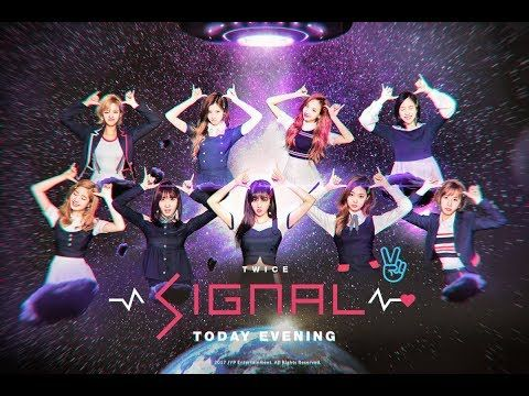 "TWICE Releases New Single Track MV  ""Signal"""