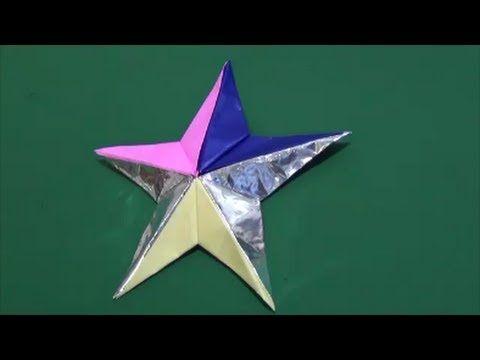 100均の折り紙や画用紙で作れるよ!人気のバーンスター風インテリア☆ | CRASIA(クラシア)