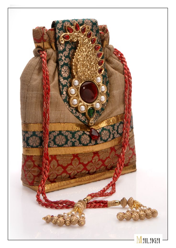 Which Bag are You? In touch with your Ethnic side- like this colourful Batwa from Malagas Rangoli Collection Handmade Handbags & Accessories - http://amzn.to/2ij5DXx