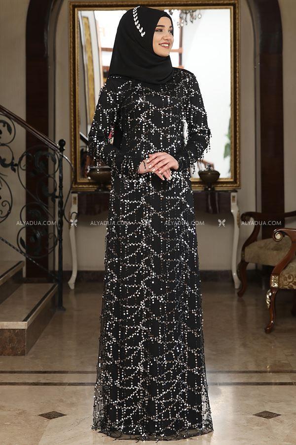 d70987463d4a5 Gümüş Salkım Abiye - RZ13275 | kıyafetler, 2019 | Fashion