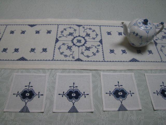 ロイヤル コペンハーゲンのテーブルランナー