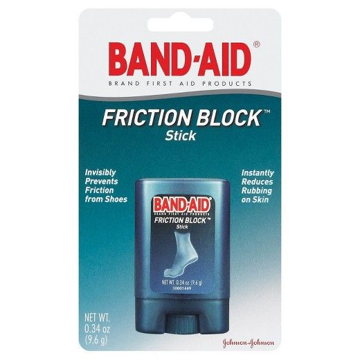 Helps prevent blisters